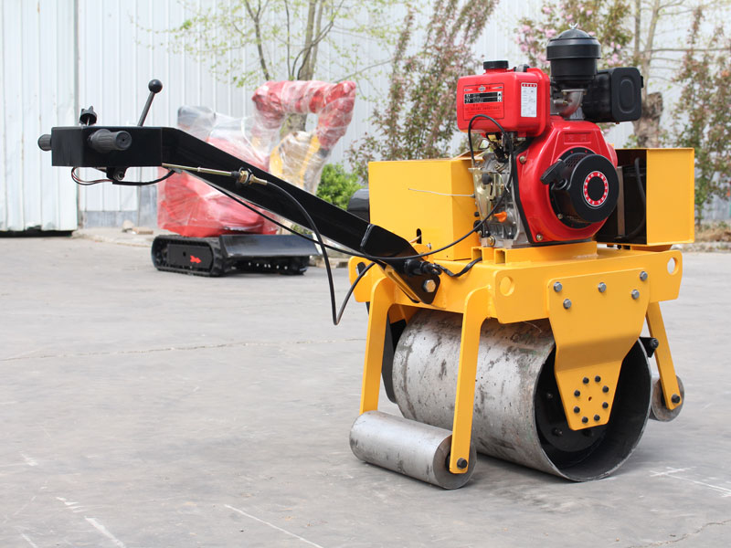 450手扶式單鋼輪壓路機