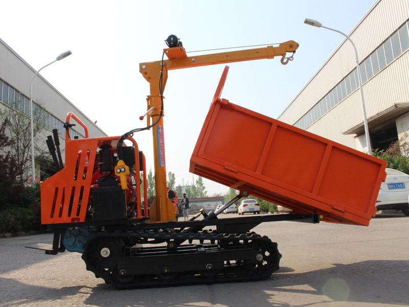 D210手扶式農用履帶運輸車