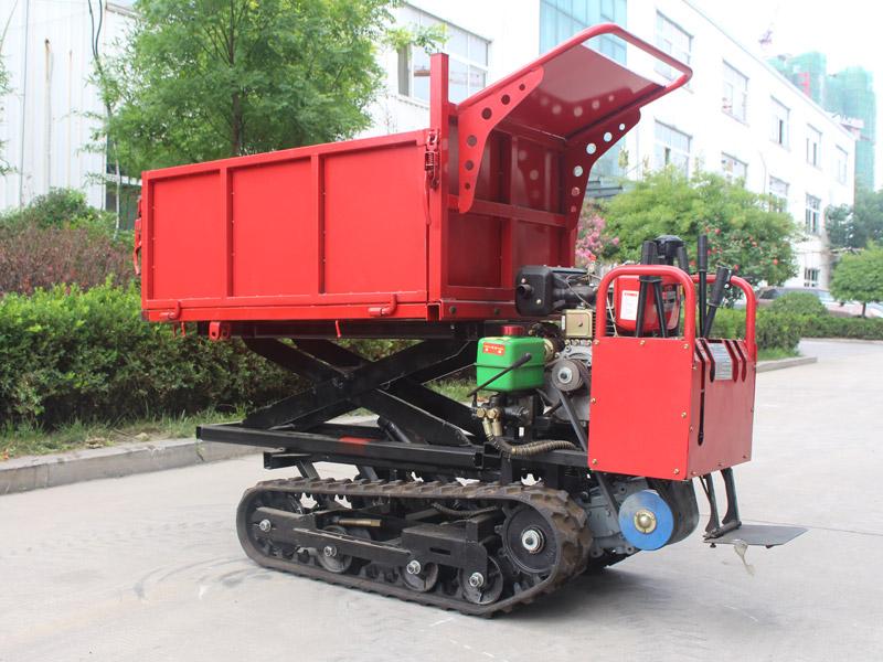 D212-1T手扶式履帶運輸車