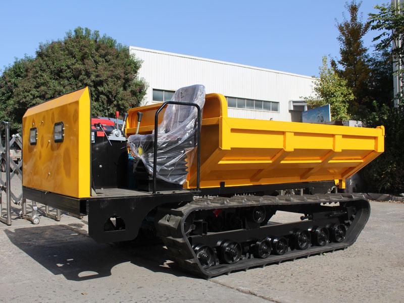 礦用履帶運輸車怎樣避免安全隱患?