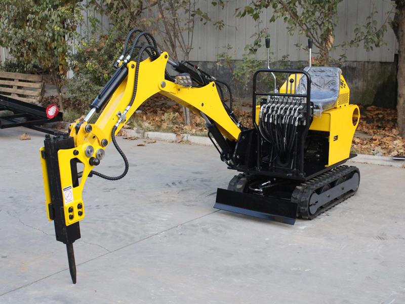 R360小型履帶式挖掘機
