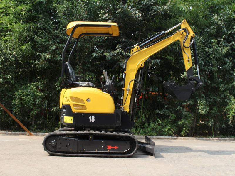 R328小型履帶式挖掘機