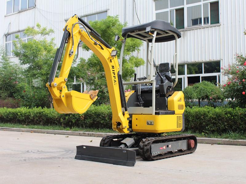 無尾R330履帶式小型挖掘機