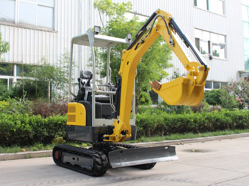 無尾R335履帶式小型挖掘機